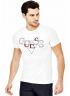 T-Shirt Guess Uomo scritta frontale M81I33J1300