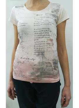 T-Shirt donna Losan con stampa floreale 812-1203AB