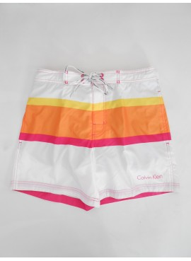 CALVIN KLEIN MEDIUM BOARDSHORT BIANCO