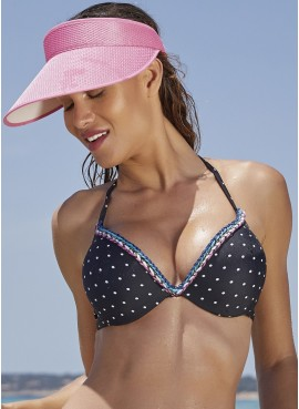 Ysabel Mora Bikini donna super imbottito push up fantasia pois 80920