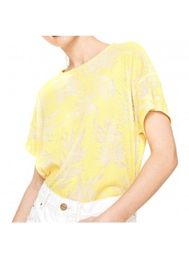 Pepe Jeans T-Shirt donna stampa tropicale PL502849 MICHELLE