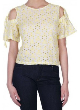 Pepe Jeans Top in macramè PL302306 EVELYN
