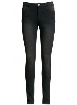 B.Young donna Jeans nero 20800027 LOLA