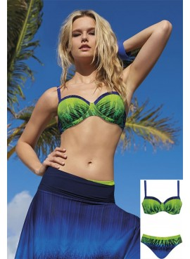 Costume Due Pezzi Sunflair Verde Lime art 21089