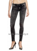 Jeans nero Guess donna