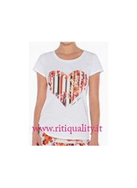 Twin-Set T-shirt cuore