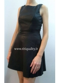 Only Abito donna in ecopelle 15079132