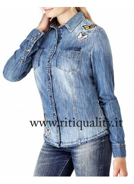 Camicia in Denim Guess Donna