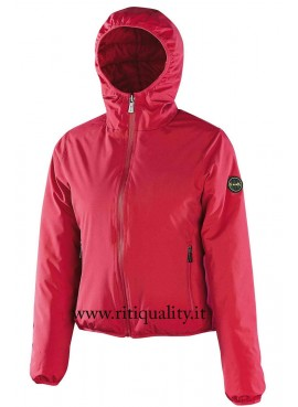 Effek giubbotto donna double face fuxia IFKW8010N
